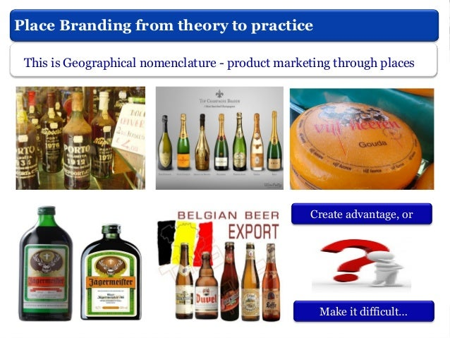 What is Place Branding? Baker, (2012)  Out of marketing dep.