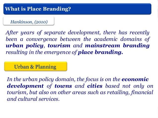 Kavaratzis & Ashworth, (2005)  City branding: an effective assertion of identity or a transitory marketing trick?   Place...