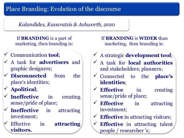 Kavaratzis & Ashworth, (2005)  From city marketing to city branding: Towards a theoretical framework for developing city b...