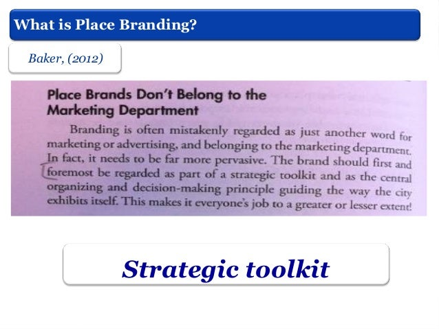 Dinnie, (2011)  Introduction to the Theory of City Branding   Part of the complexity of city brands derives from their ob...