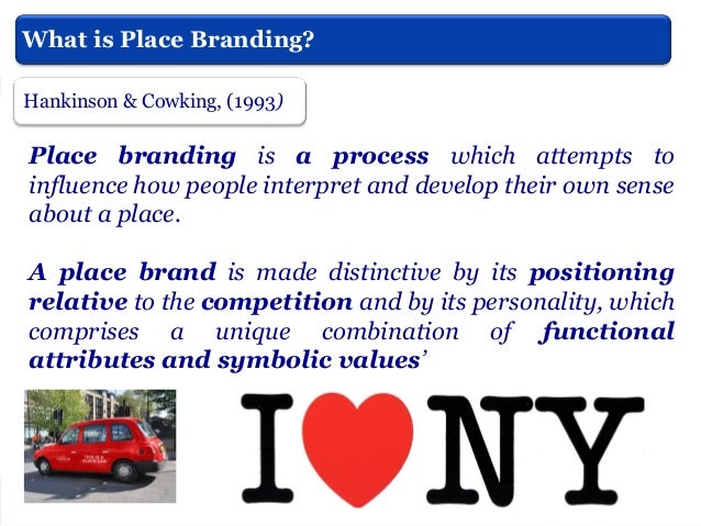 City Branding  Highlight assets  Strategic Planning  Links?  Envisioning -Visions  Communication message  Common objective...