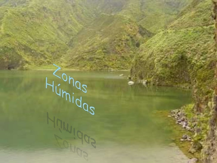 Zonas Húmidas<br />
