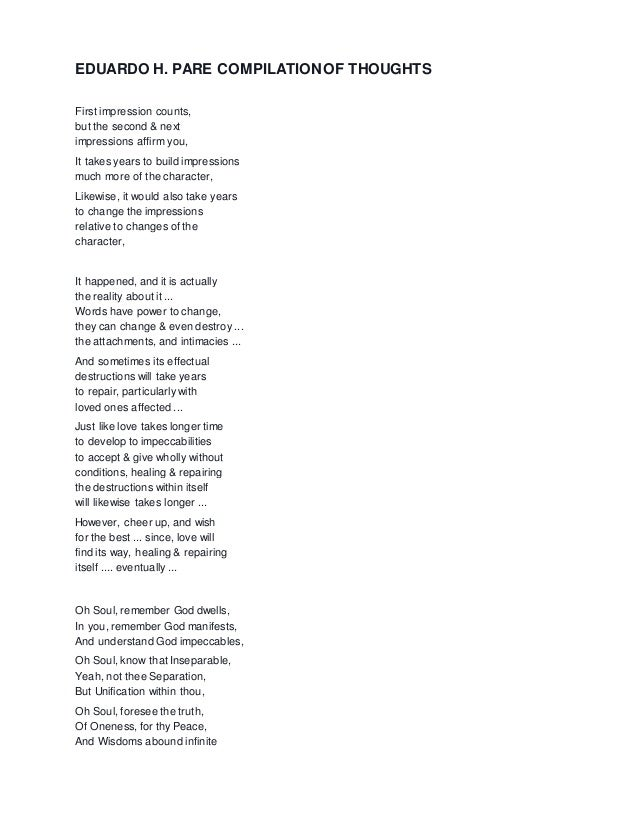 Get PDF Poems and Thoughts