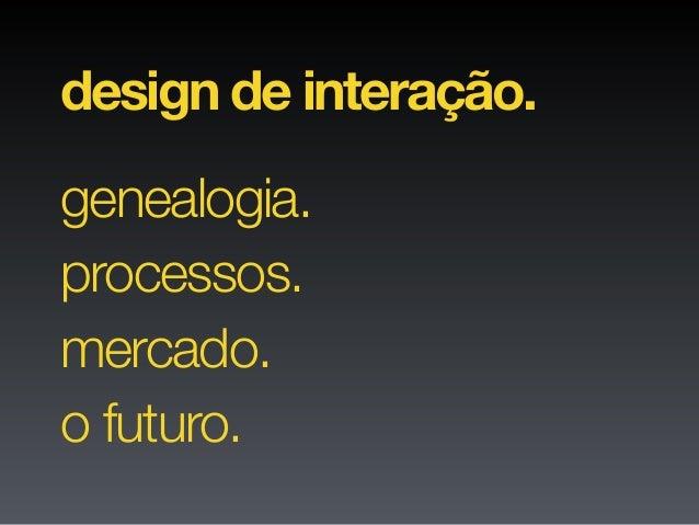 Profissão: Designer de Interação