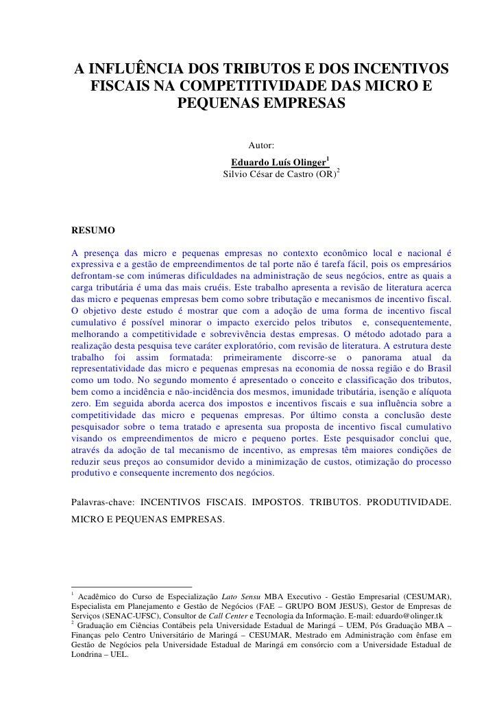 TCC MBA Eduardo Luis Olinger Cesumar