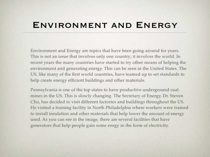 eduarte globalization bm q photo essay environment and energy 5