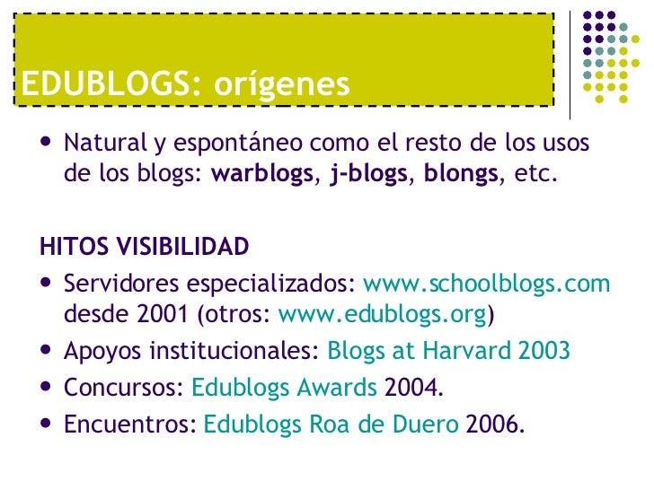 Edublogs Tiscar Lara Slide 3