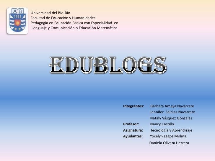 Universidad del Bío-BíoFacultad de Educación y HumanidadesPedagogía en Educación Básica con Especialidad enLenguaje y Comu...