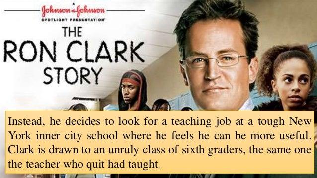 mr ron clark story