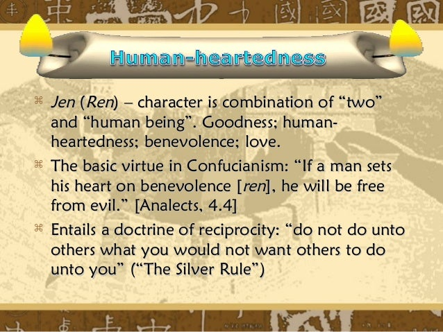 the confucian ideal person The ideal human relations: aristotelianism versus confucianism it is difficult to achieve a really deep understanding of the different approaches to surrogate.