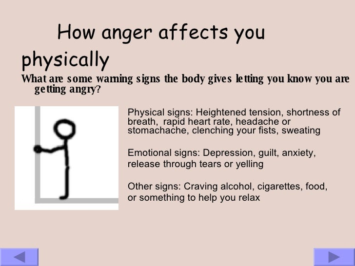 anger physical mental affects Mental health addiction adhd anxiety asperger's  and more urgent even than physical pain  (volume iii): the negative affects: anger and fear.