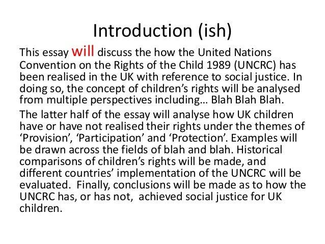 blahblah essay