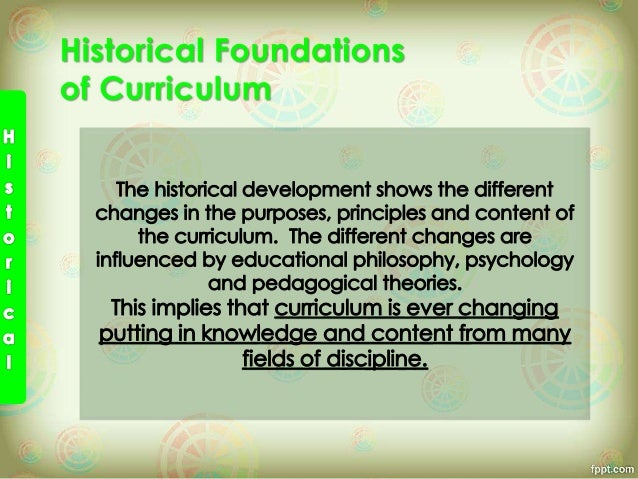 developing curriculum practice essay
