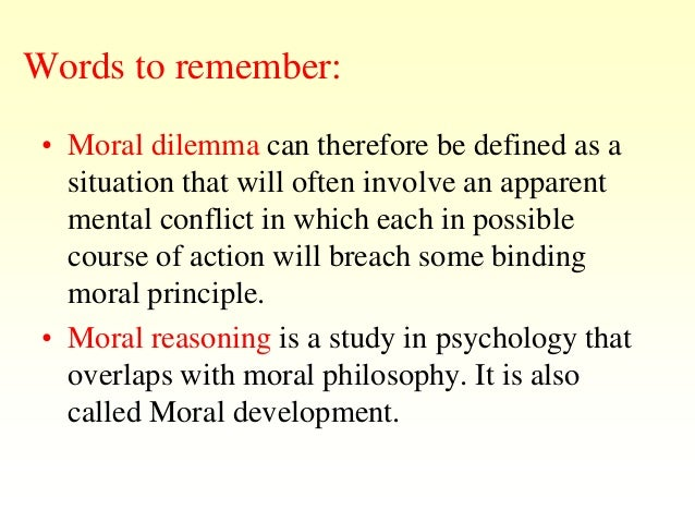 case study of moral dilemma Thankfully most of us do not come across dire situations that present a moral dilemma top 10 moral dilemmas listverse in any case you know.