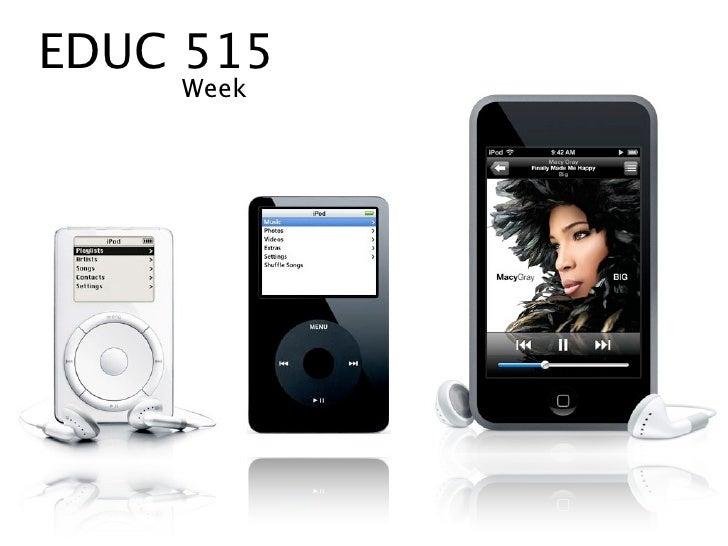 EDUC 515     Week