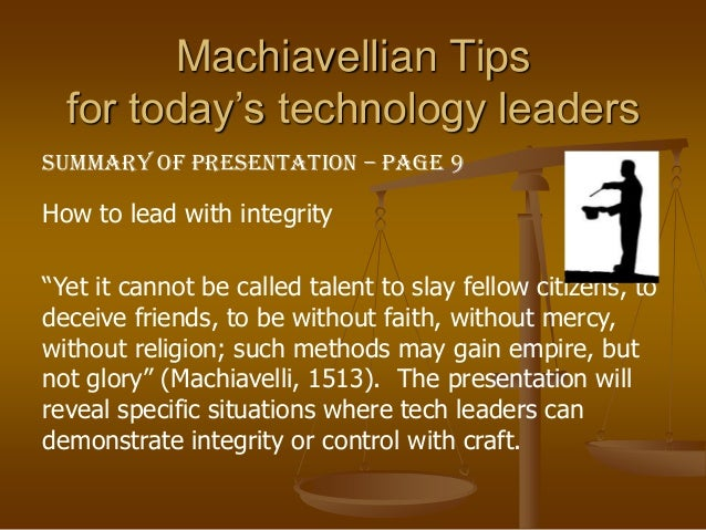 Machiavellianism - Wikipedia