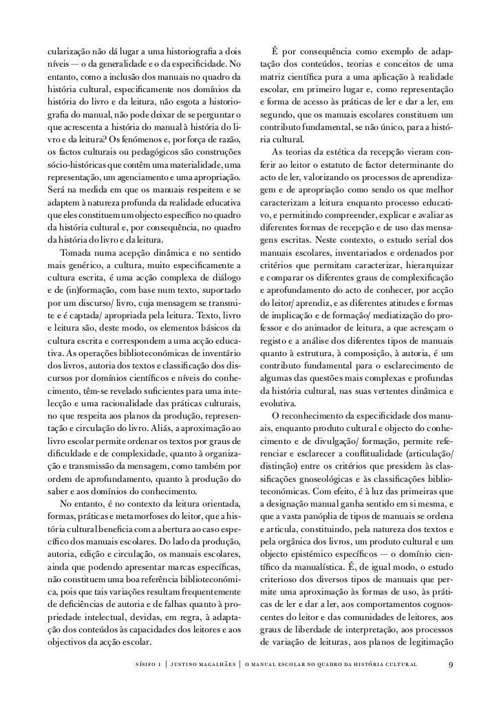 cularização não dá lugar a uma historiografia a dois           É por consequência como exemplo de adap-níveis — o da gener...