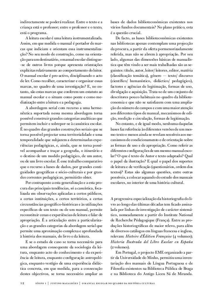 indirectamente se poderá realizar. entre o texto e a       bases de dados biblioteconómicas existentes noscriança está o p...
