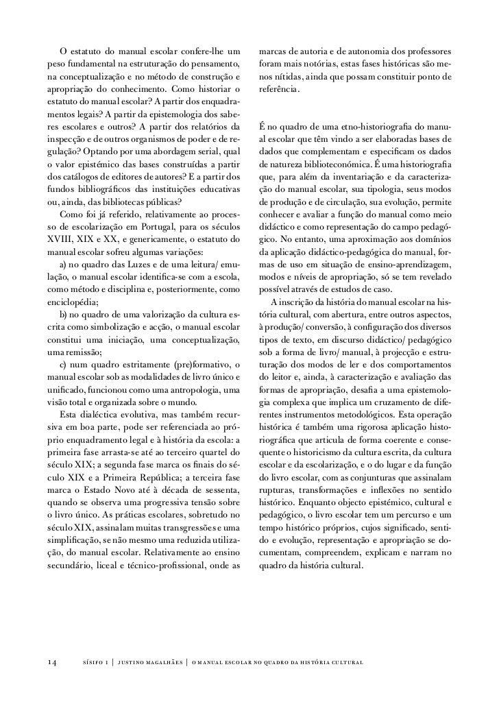 o estatuto do manual escolar confere-lhe um           marcas de autoria e de autonomia dos professorespeso fundamental na ...
