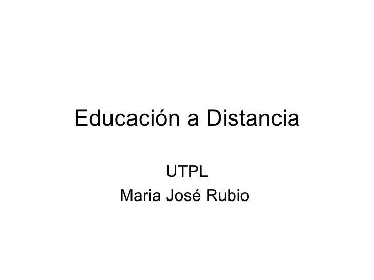 Educaci n a distancia for Arquitectura tecnica a distancia