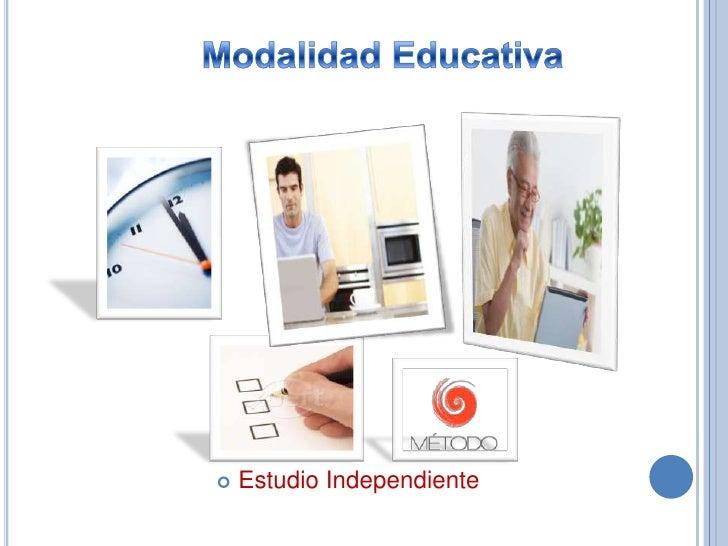 EDUCACIÓN ABIERTA    Oferta educativa    Jóvenes y adultos.   Circunstancias:   sociales, laborales,   económicas y   g...