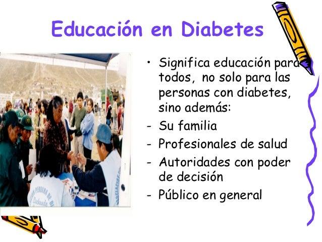 Educación en Diabetes