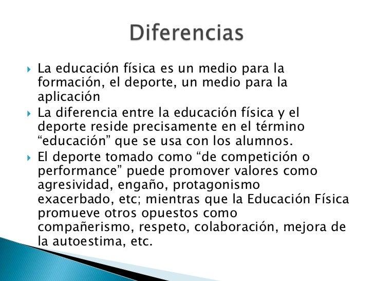 Educaci n f sica y deporte for El gimnasio es un deporte