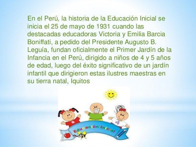 Educaci n inicial for Que es jardin de infancia