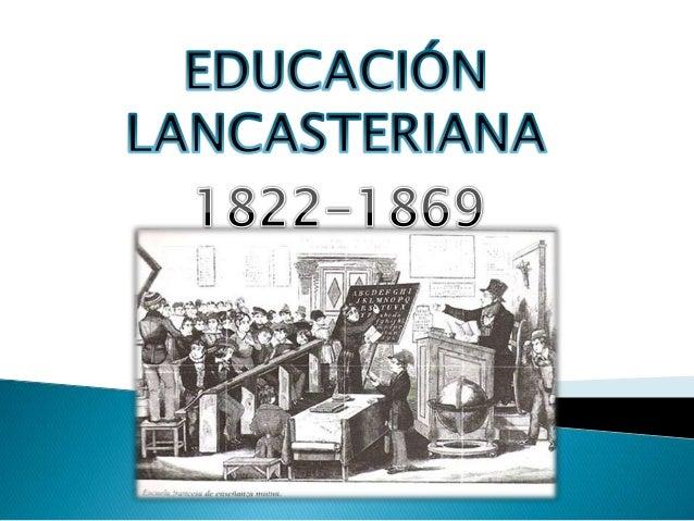 Educaci n lancasteriana for Arquitectura para la educacion pdf