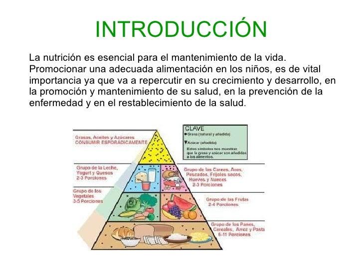Educaci n sanitaria en la alimentaci n y crecimiento saludable - Alimentos para el crecimiento ...