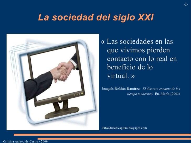Consecuencias. </li></ul><li>Documentación Internacional /  Directrices </li></ul>Cristina Arroyo de Castro / 2009 - - not...