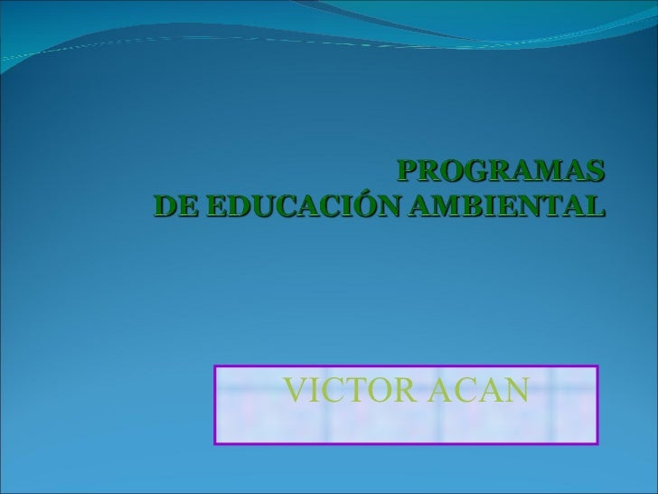 VICTOR ACAN