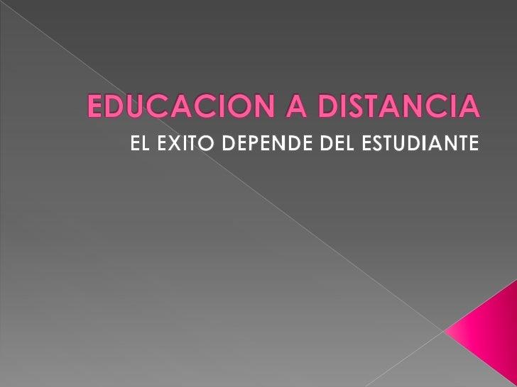     La educación virtual es una oportunidad y    forma de aprendizaje que se acopla al    tiempo y necesidad del estudian...