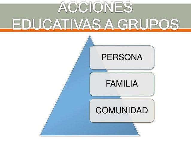 Su área ocupacional es en el Sector Salud, en el marco de Instituciones Educativas y empresas. Básicamente se pueden citar...