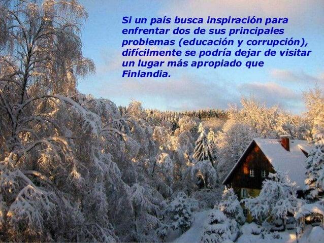 """La presidenta finlandesa, Tarja Halonen, adelanta algunas palabras-clave: """"fuerte inversión en educación"""" (6% del PIB en F..."""