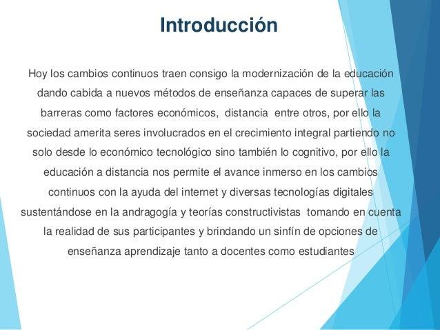 Educacion en linea sin audio Slide 2