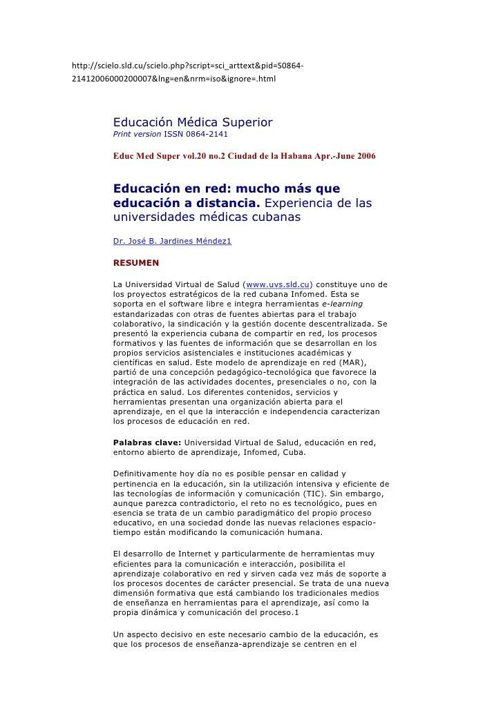 http://scielo.sld.cu/scielo.php?script=sci_arttext&pid=S0864-21412006000200007&lng=en&nrm=iso&ignore=.html          Educac...
