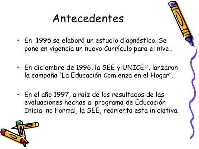 Educaci n inicial en la rep blica dominicana for Nuevo curriculo de educacion inicial