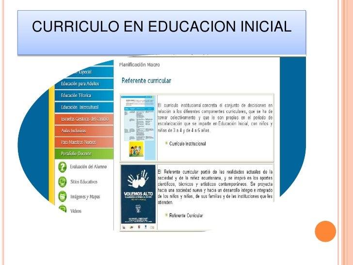 Educacion inicial pp 2 for Nuevo curriculo de educacion inicial