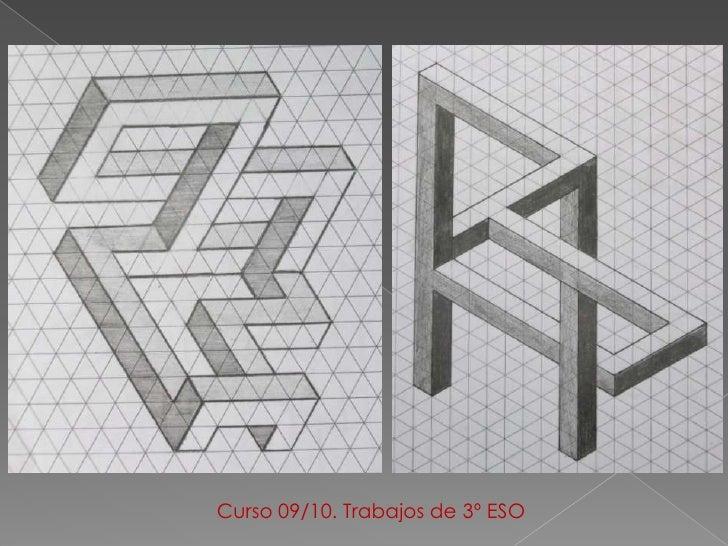 Educacion plastica y visual ii figuras imposibles - Figuras geometricas imposibles ...