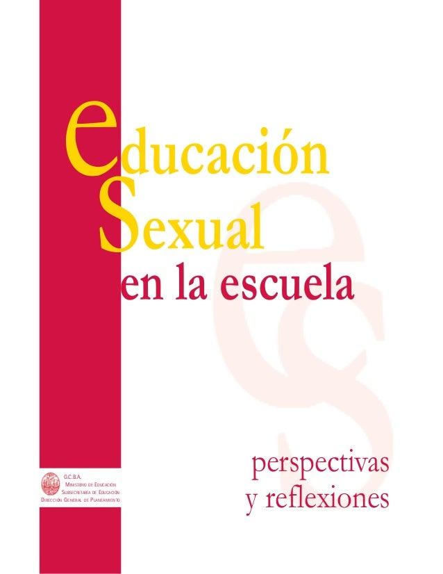 Educacion sexual dossier