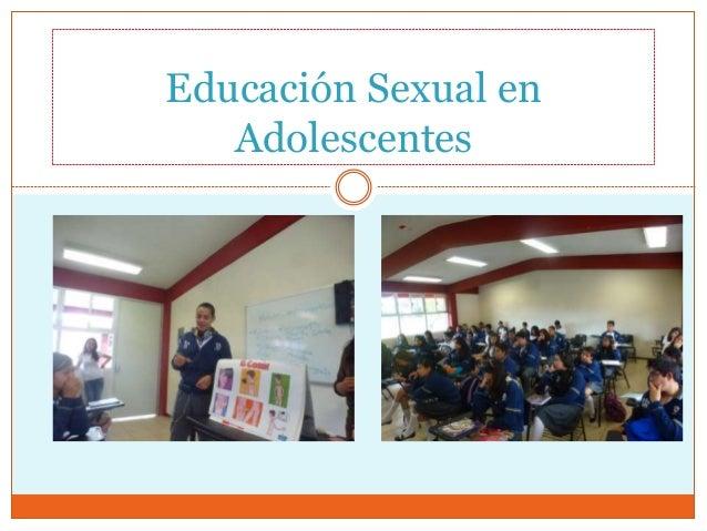 Educación Sexual en Adolescentes