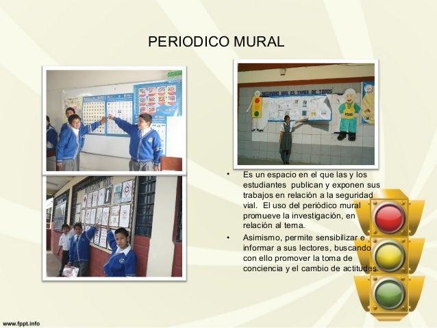 Educacion for Mural sobre o transito