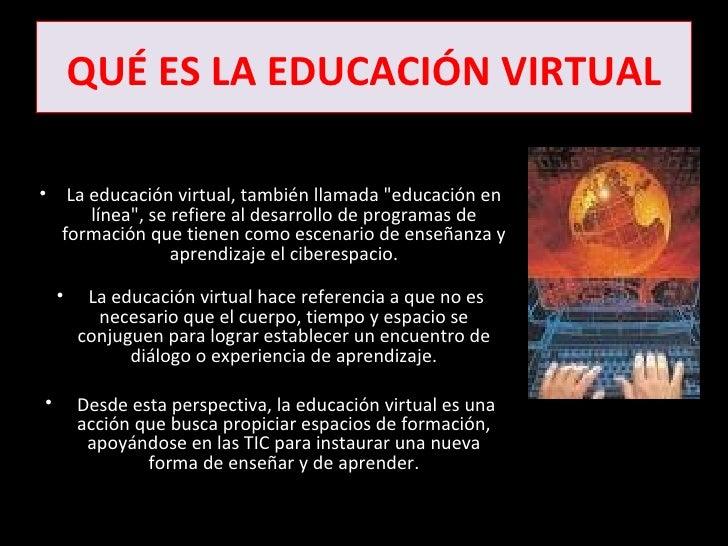 Educacion virtual for Que es una pagina virtual