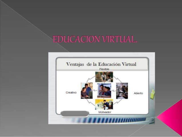  Es una opción y forma de aprendizaje que se acopla al tiempo y necesidad del estudiante. La educación virtual facilita e...