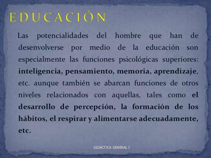 Educacion y didactica Slide 2