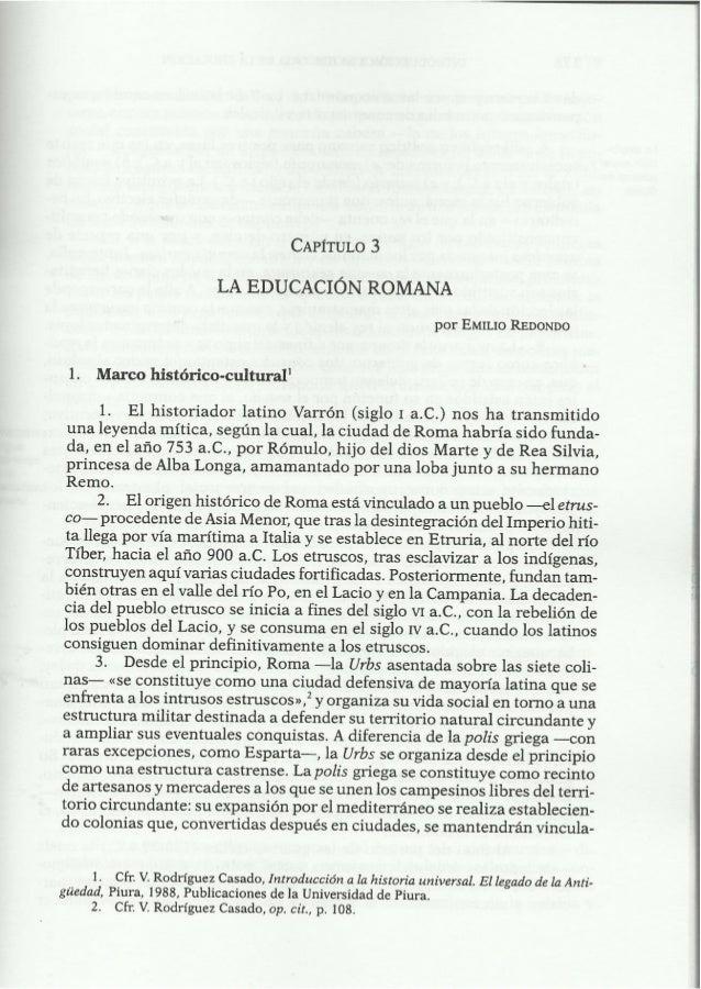 Educacio romana