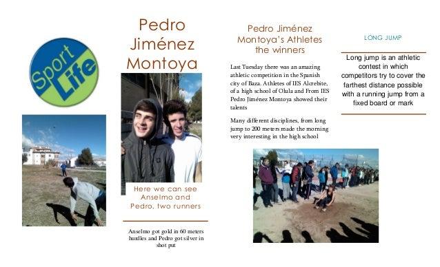 Pedro                               Pedro Jiménez                                    Montoya's AthletesJiménez            ...