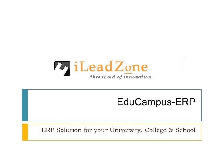 Edu Campus Erp Show