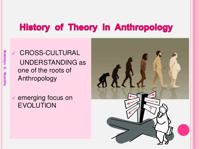anthropology theories Anthropological theories and theoretical orientations 1 braklelyn g reantillo student, maed - social studies 2 logo historians of anthropology often trace the birth of anthropology to the 16th –century encounters between europeans and native peoples in africa and the americas.